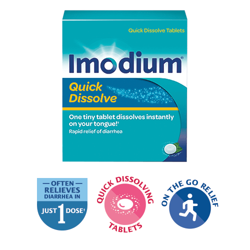 Imodium instants tablets | 6 pack instant melts travelpharm.